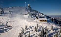 Skiareál Grosser Arber (Velký Javor) 1456 m